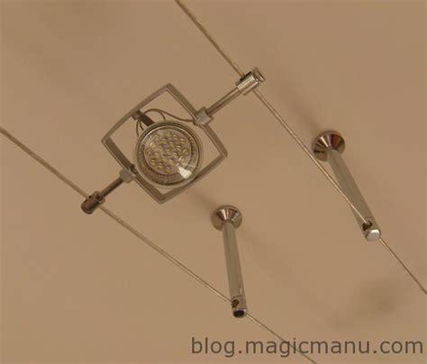 eclairage suspendu cable eclairage fil tendu simple cable tendu t b t sail spot