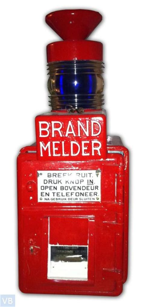 Collection Category Id 01 Verzameling In Beeld 1927 Brandmelder Rode Wachter