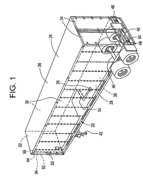 patent us6870473 corner post mounted status light