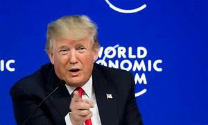 Trump Pitches America-First in Davos | Donald Trump ...