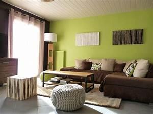 ophreycom deco salon blanc et vert prelevement d With tapis chambre bébé avec composer son canapé