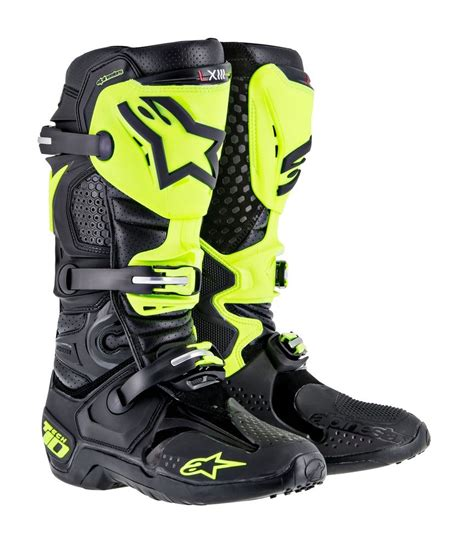 cheap motorbike shoes 599 95 alpinestars mens tech 10 rv2 mx offroad riding 204900