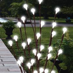 2 x 60cm garden led twig lights solar tree lights decor lighting outdoor l