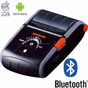 bixolon spp r200ii mobile bluetooth receipt printer With bluetooth label printer for ipad