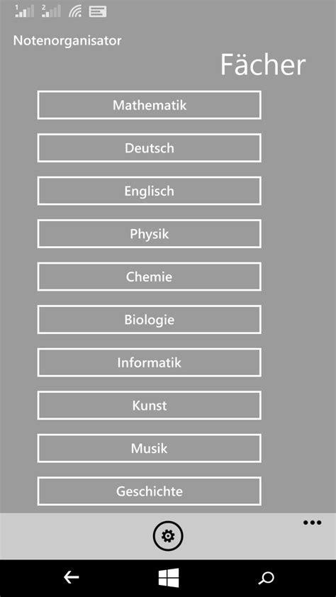 app zum sonntag notenorganisator schulnoten organisiert