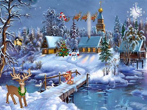 christmas symphony  christmas screensaver