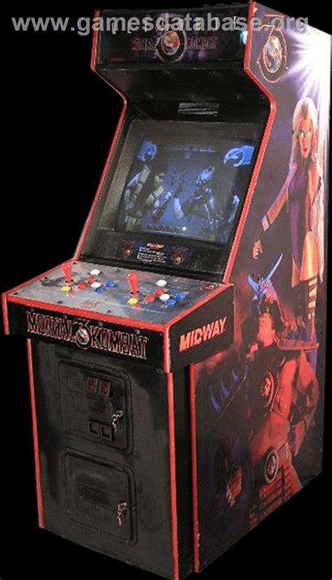 mortal kombat arcade cabinet ultimate mortal kombat 3 arcade database