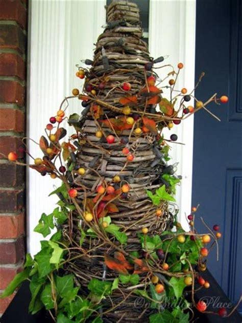decorating  autumn ideas   porch  sutton place