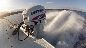 Evinrude Etec 115hp Ho - Wot Smooth Water