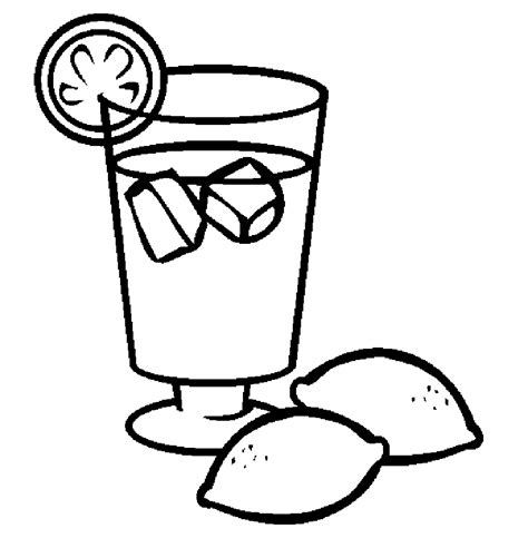 Coloring Juice by Iced Drinks Juice Drinks Coloring Pages