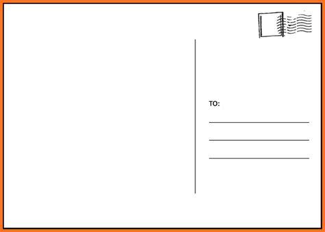 postcard template blank postcard template sadamatsu hp