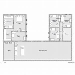 logiciel plan de maison excellent maison en u plan u With logiciel plan de maison