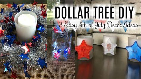 dollar tree diy  simple   july home decor ideas