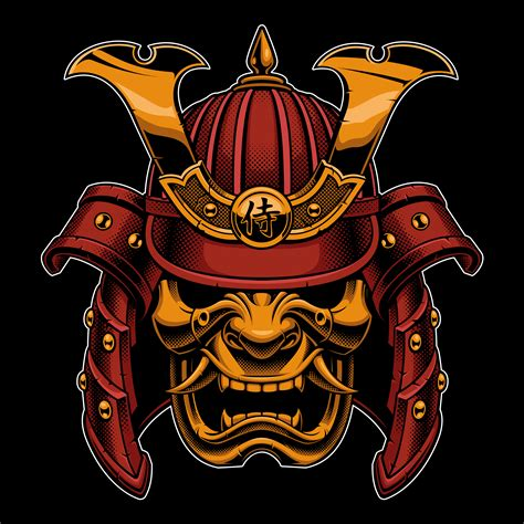Samurai (color version) - Download Free Vectors, Clipart ...