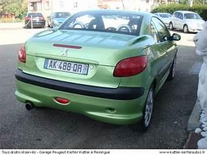 Peugeot 206 Cc Occasion : peugeot 206 cc 2l 16v 2002 occasion auto peugeot 206 cc ~ Gottalentnigeria.com Avis de Voitures