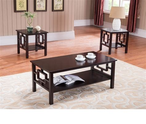 coffee table set living room furniture  contemporary
