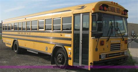 Bird Fe by 1998 Blue Bird Tc2000 School Item H5265 Selling At