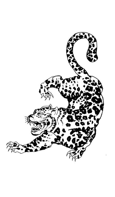 Sak yant leopard tattoo | Leopard tattoos, Inspirational tattoos, Tattoos