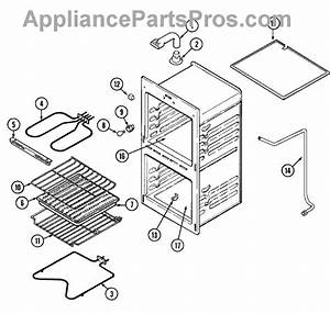 Parts For Magic Chef 9622xub  Oven Parts