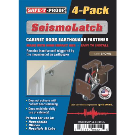 earthquake proof kitchen cabinets earthquake cabinet latches cabinets matttroy 6995