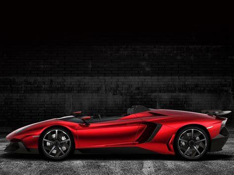 Foto Mobil Sport Lamborghini Aventador J Concept 2012