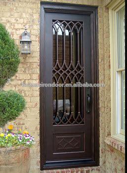modern wrought iron door luxury villa entrance door