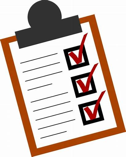 Done Clipart Checklist Clip Cliparts Transparent Vector