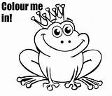 Frog Coloring Pages Prince Princess Colouring Tree Baby Frogs Printable Sheet Drawing Leap Eyed Kiddycharts Printables Drawings Print Eye Coqui sketch template