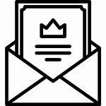 Einladung Icon Icons