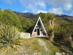 Small a Frame House in the Mountains