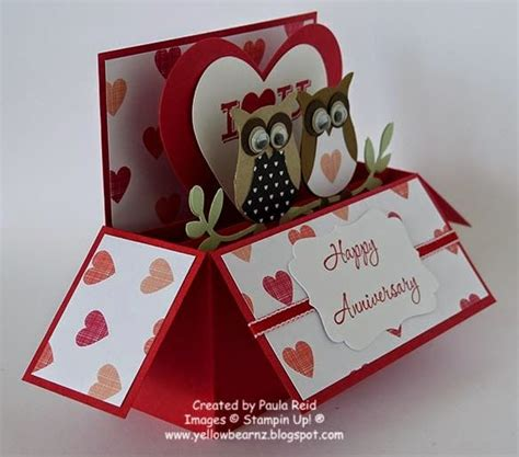 owl pop up card template owl card in a box by paula based on my