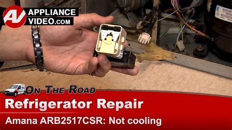 refrigerator repair not cooling or freezing noise amana maytag whirlpool