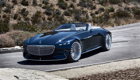 maybach mercedes mercedes wows with the vision mercedes maybach 6 cabriolet