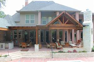 Large, Beautiful, Poolside, Patio, Cover, In, Plano