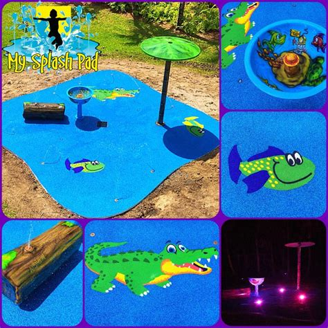 ideas  splash pad  pinterest backyard