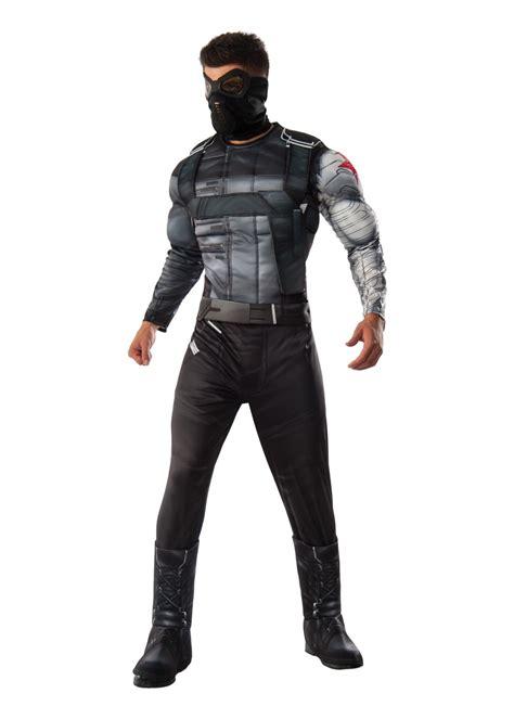 civil war winter soldier men costume superhero costumes