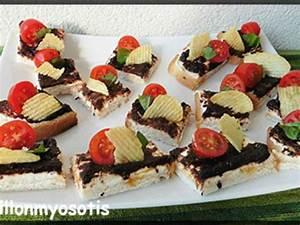 Idée Toast Apéro : recettes de toasts et olive ~ Melissatoandfro.com Idées de Décoration
