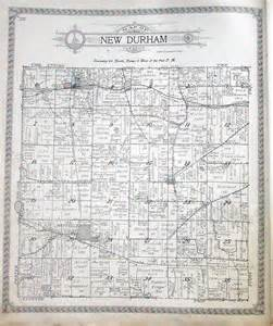 La Porte County Indiana Township Map