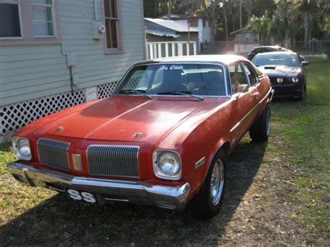 1973 Dr,olds Oldsmobile Omega Hatchback Vinyl Top Vin# K3l