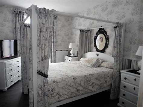 deco chambre baroque 107 deco de chambre baroque toile de jouy blanc gris