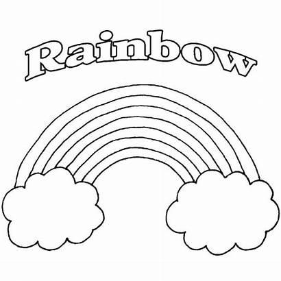 Rainbow Coloring Adults Printable Rainbows Sheets Colors