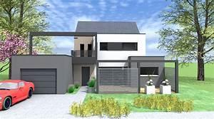 maison d architecte contemporaine mc immo With plan de maison cubique 18 maison d architecte contemporaine mc immo
