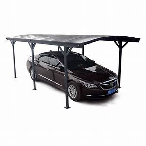 Carport En Aluminium : carport en alu anthracite 3x5 05m toit polycarbonate 6mm ~ Maxctalentgroup.com Avis de Voitures