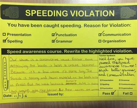 Speeding Ticket by Best 10 Speeding Tickets Ideas On Classroom