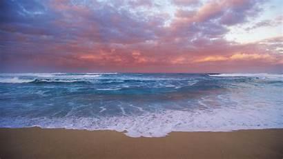 Ocean Sunset Wallpapers Desktop Pink Sky Background