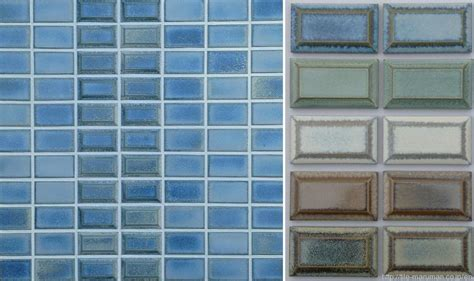 subway tile blue rustic washed out coverings orland