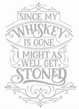 Svg Gone Whiskey Since Coloring Pages Etsy Cricut Adult Quote Printable Sold Letters Drawing Crafting Don Printables sketch template