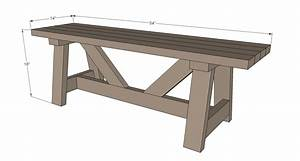 2x4 Bench Instructions Pdf Woodworking
