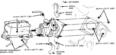 Wiring Diagram For Brake Booster by Ford F800 Brake Diagram Ford Wiring Diagram Images