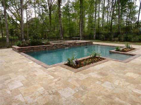 deck pool exle simple and neat outdoor space design